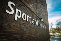 Sport and Exercise. Center - gym Royalty Free Stock Images