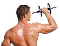 Sport exercising Stock Image