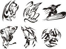 Sport extrême 6. illustration de vecteur