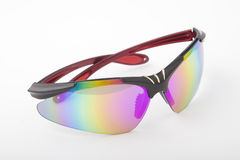 Sport eyewear. With coloured lenses Stock Images
