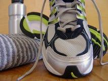 sport för 4 skor Arkivfoto