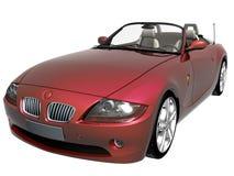 sport för bil 3d royaltyfri fotografi