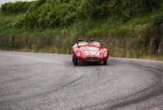 Sport för ERMINI Tipo 357 Scaglietti 1500 1955 Arkivbilder