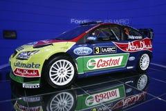sport för hastighet för bilford tävlings- Arkivfoto