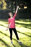 Sport för ung kvinna royaltyfria foton