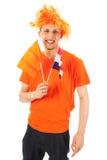 Sport fan in Holland Stock Photos