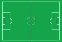 Sport field. Illustration-soccer stadium Stock Photo