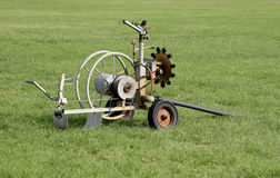 Sport Field Irrigation System Stock Photography