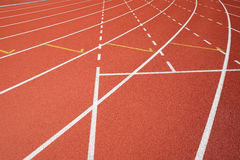 Sport field lines Royalty Free Stock Image