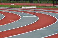 Sport filed lines. Sport field lines on ground Stock Image