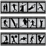 Sport filmstrip Royalty Free Stock Image