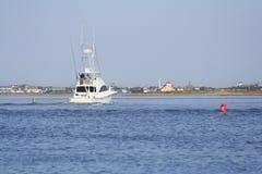 Sport-Fischerboot Stockfoto