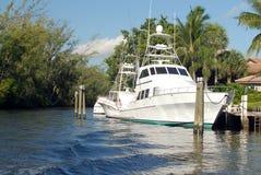 Sport-Fischerboot Stockbilder