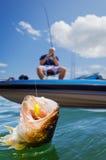 Sport fishing Stock Photo