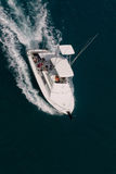 Sport fishing. Fishing sport boat returning from ocean Stock Photography