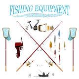 Sport fishing at all times Stock Photography