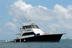 Sport fishing boat Stock Image