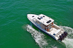 Sport Fishing Boat Stock Photography