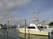 Sport Fishing Boat for Charter Stock Photography
