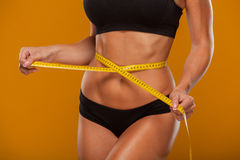 Sport, fitness and diet concept - close up of royalty free stock photos