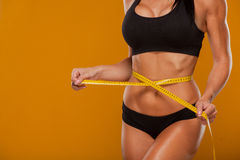 Sport, fitness and diet concept - close up of Stock Images