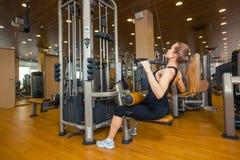 Sport, fitness, levensstijl en mensenconcept - Stock Afbeelding