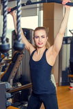 Sport, fitness, levensstijl en mensenconcept - Royalty-vrije Stock Foto's