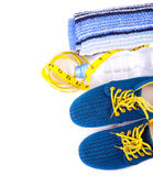 Sport and fitness lifestyle and objects Royalty Free Stock Image
