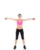 Sport Fitness Woman Stock Images