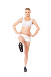 Sport fitness woman Stock Photography