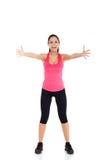 Sport fitness woman Stock Image