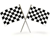 Sport flag Stock Photos