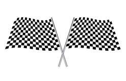 Sport flag Royalty Free Stock Image