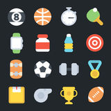 Sport Flat Icons Royalty Free Stock Image