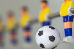 sport foosball player table soccer Royalty Free Stock Photography