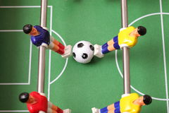 Sport foosball Säulengang Lizenzfreies Stockfoto