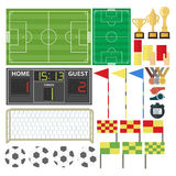 Sport-Football-équipement Image stock