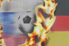 Sport football soccer 3D Stock Photography