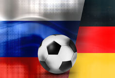 Sport football soccer 3D Stock Images