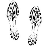 Sport footmarks Royalty Free Stock Images