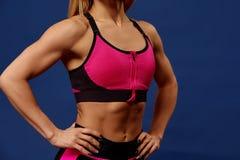 sport FrauenSportvereinigung stark und schön Lizenzfreie Stockbilder