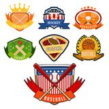 Sport game vector team logo play tournament label champion emblem league competition symbol athletic championship club. Sport game vector team logo play stock illustration