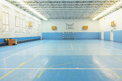 Sport games hall. Interior of a sport games hall Stock Photo