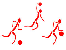 Sport games icons Royalty Free Stock Photography
