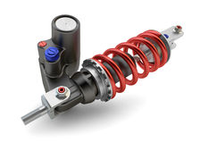 Sport Gas shock absorbers Stock Image