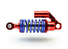 Sport Gas shock absorbers Royalty Free Stock Photos