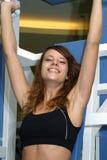 Sport, girl Stock Image