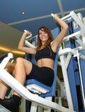 Sport, girl royalty free stock image