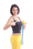 Sport girl Royalty Free Stock Photography