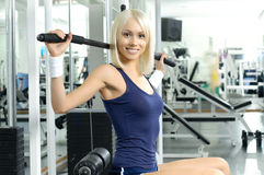 Sport girl Royalty Free Stock Photos